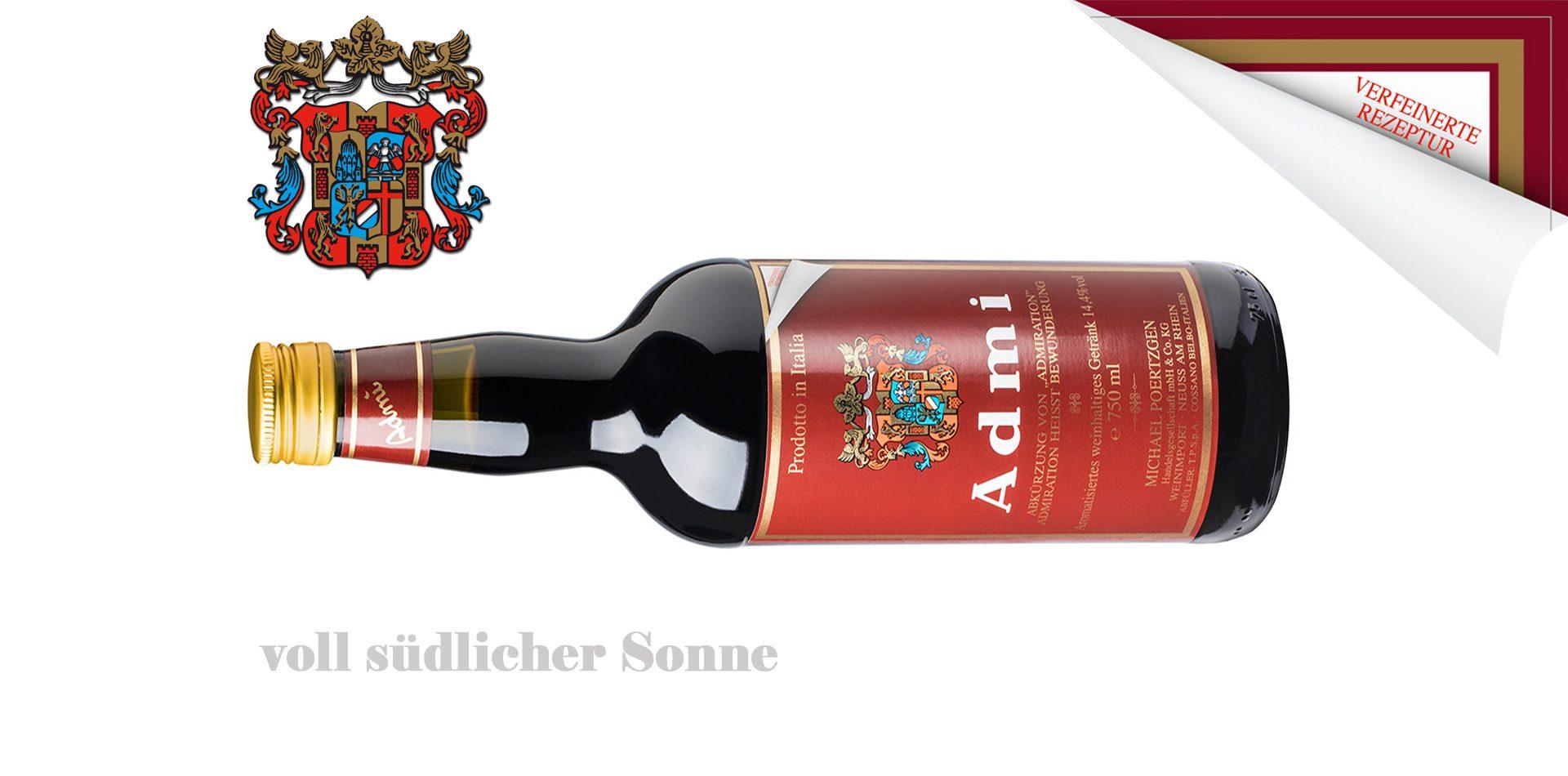 Admi-Rosso | italienischer Dessertwein | Michael Poertzgen Handelsgesellschaft mbH & Co. KG